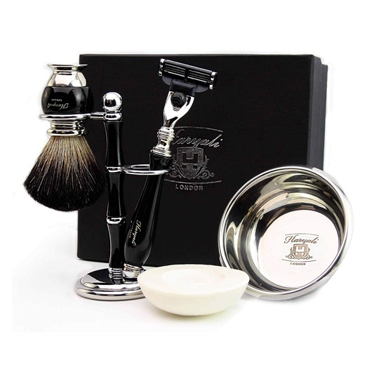 set da barba uomo