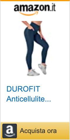 durofit leggings sportivi anticellulite