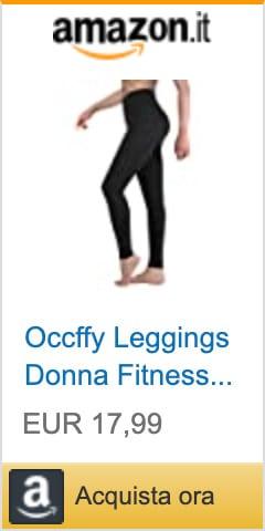 occffy leggings push up sportivi