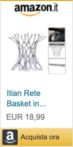 rete basket metallo